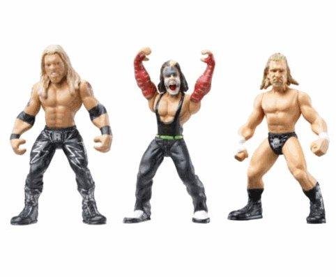 WWE Micro Aggression 3 Pack #15 - Edge/Jeff Hardy/Triple H