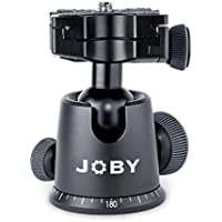 JOBY GorillaPod Ballhead X For Focus. Quick Release Ballhead for Tripods, Videos Cameras, and Pro DSLR Cameras w/ Zoom Lenses up to 5kg (11.1lbs)