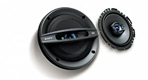 Sony XSF1737SE - Altavoz coaxial de 3 vías de 17cm para coche
