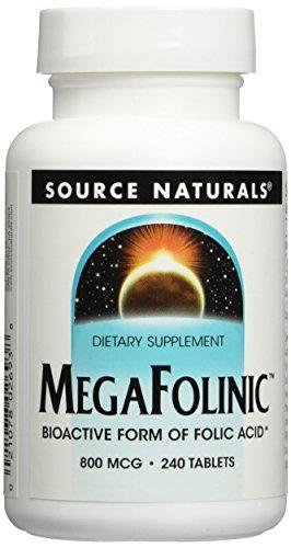 Source Naturals Megafolinic Bioactive Supplement product image