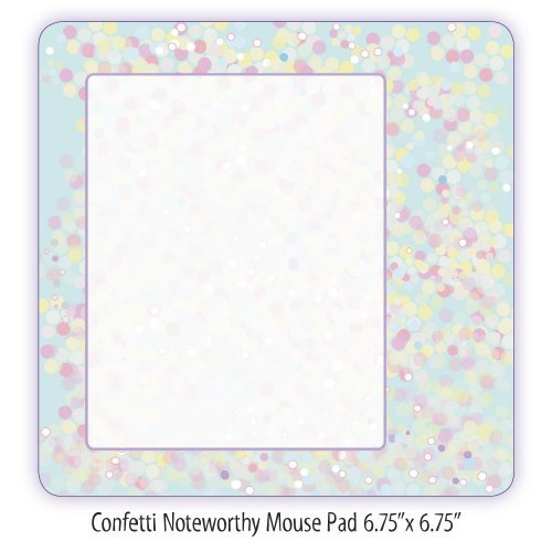 Too Little Trees Confetti Collection Notewrorthy Mouse Pad (11623) by Too Little Trees