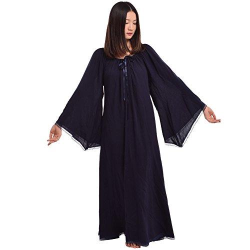 Blue Women BLESSUME Gown Dress Medieval Renaissance qwawgx8T