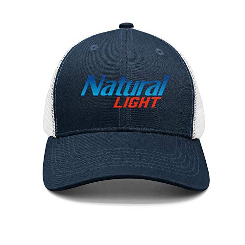 uter ewjrt Adjustable Natural-Light-Logo- Visor Hats Dad Vintage Cap (Light Logo Natural)