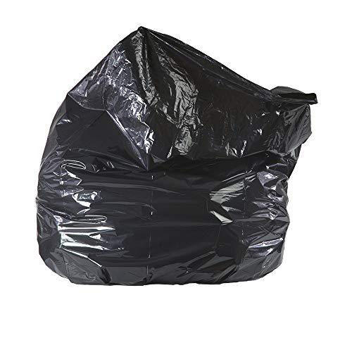40-45 Gallon Black Repro Trash Bags - 1.5 Mil - 100/CS