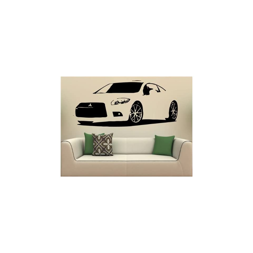 Wall Mural Vinyl Decal Stickers Car Mitsubishi Eclipse Gs S1361