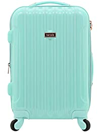 "20"" ""Alma"" Carry-On TSA-Lock Spinner Luggage, Opal"