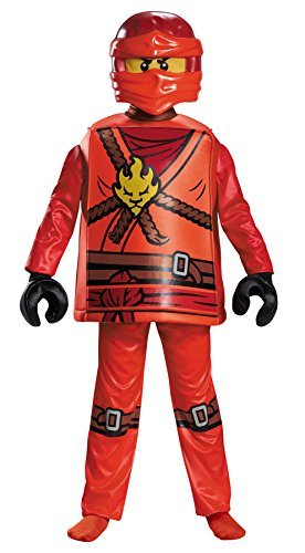 Boy's Lego Ninjago Masters Of Spinjutsu Kai Deluxe Halloween Costume, Medium (7-8) ()