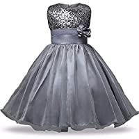 Magic Collections Girls Birthday Dress Gown