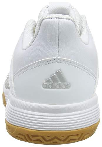 Ligra silver De White grey Blanco Adidas Two F17 Met Mujer Zapatos ftwr Voleibol 6 Para FqFwdv