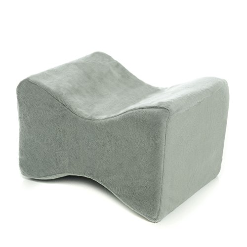 Milliard Leg and Knee Pillow Contour Memory Foam + Firm Foam Center (Therapeutic Leg Pillow)
