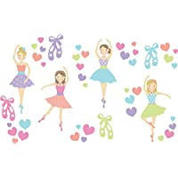 WallPops WPK2575 Prima Ballerina Wall Art Kit, Multicolor