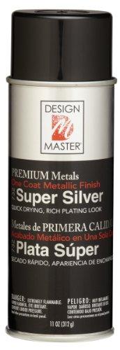 Design Master 732 Super Silver Metallic Spray Floral Glitter Spray