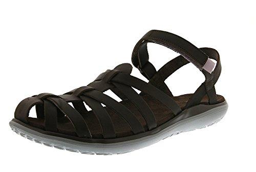 Teva Womens Terra-Float Stella Lux Sandal, Braun, 40.5 EU/7.5 UK