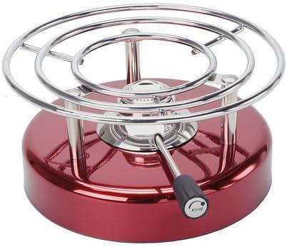 Kisag LongFire - Hornillo de acero inoxidable, color rojo ...