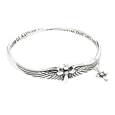 Rosemarie Collections Women's Twist Metal Bangle Bracelet