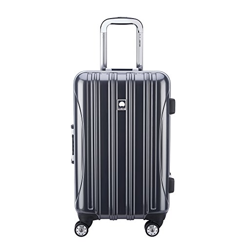 Delsey Luggage Aero Frame 21 Inch Spinner, silver