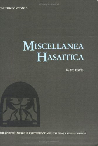 Miscellanea Hasaitica (CNI Publications)
