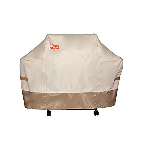Cheap Yukon Glory 8264TB Premium Grill Cover for Weber Genesis Gas Grills (Compared to the Weber 7107 Grill Cover)