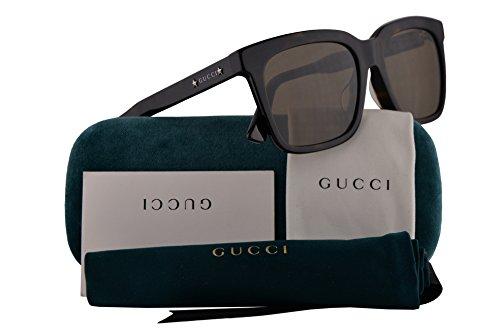 Gucci GG0267SA Sunglasses Havana w/Brown Lens 55mm 002 GG0267/SA GG0267S GG 0267S GG 0267/SA GG 0267SA
