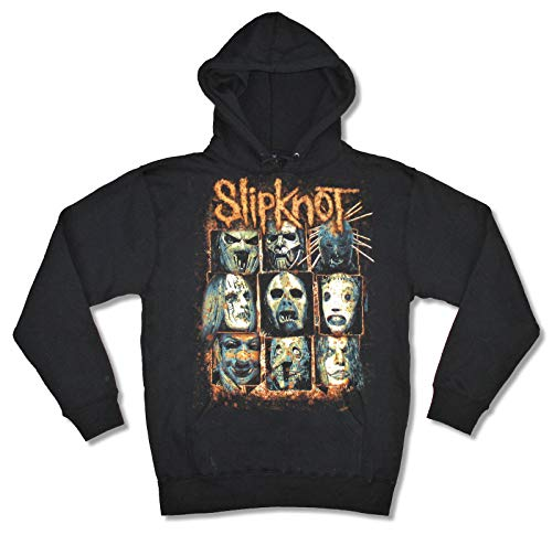 Slipknot Masks Black Sweatshirt Hoodie