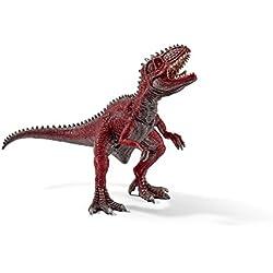 Schleich Réplica de Figura de Dinosaurio Gigantosaurio, color gris con rojo