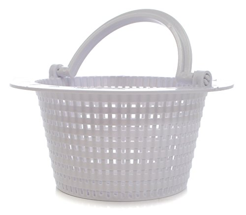 Milliard Replacement Skimmer Basket, Great for Above Ground Pools, Small-Standard Size with Handle, Measure Before Ordering - Pool Supplies Skimmers (Pool Pump Basket Replacement)