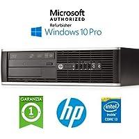 PC HP Compaq 6300 Pro SFF Core i3-3220 4Gb Ram 250Gb Windows 10 Professional (ricondizionato certificato)