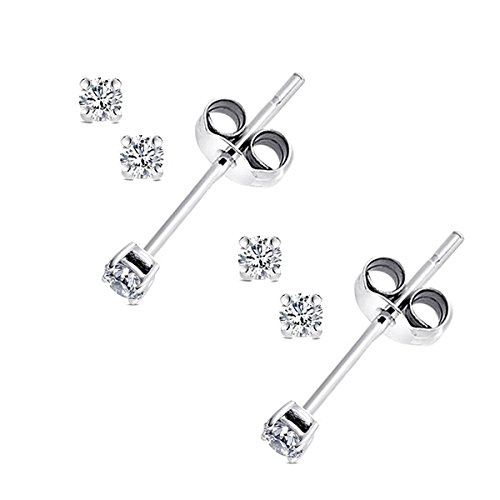 2 Pairs Combo 4 Pieces 2mm Eac