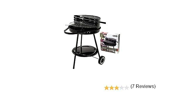 555C540 - Barbacoa Carbón Ruedas 42 Cm: Amazon.es: Bricolaje y herramientas