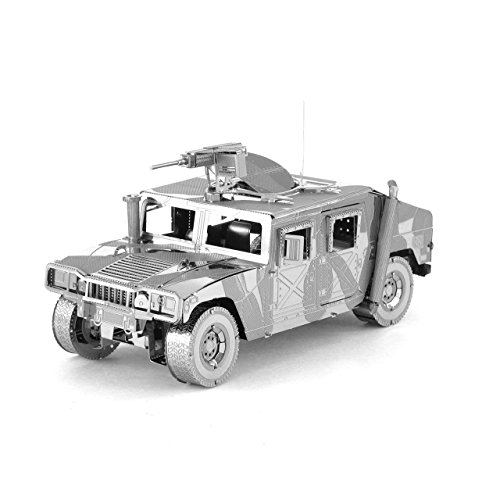Fascinations ICONX Humvee 3D Metal Model Kit