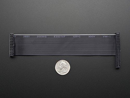 Downgrade GPIO Ribbon Cable for Raspberry Pi Model B+ 40p to 26p (B+ Adafruit Cobbler)