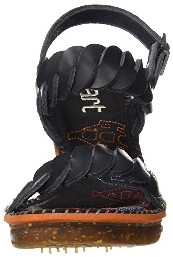 Tacco Con black T Amsterdam Art Scarpe Cinturino Nero Donna A Mojave 1050 Col qYXZFR