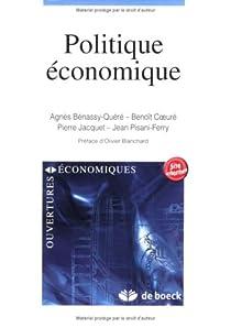 Politique économique par Bénassy-Quéré