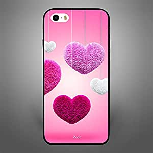 iPhone SE colored Hearts