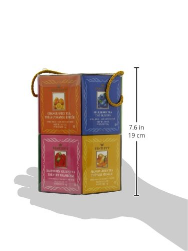 Bentley's Royal Classic Collection Assorted Flavor Gift Pack, 96 Tea Bags (Pack of 2), Includes 8 Bags Each of a Variety of Black and Green Tea Flavors by Bentley's (Image #8)