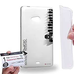 Case88 [Microsoft Lumia 540] Gel TPU Carcasa/Funda & Tarjeta de garantía - Ghost in the Shell: Stand Alone Complex Motoko Kusanagi Batou Tachikoma 3139