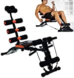HNESS 6 Pack Abs Exerciser Machine with 20 Different Modes for Exercise and Fitness (Exercise Equipment for Home)(6 Pack Machine Body)
