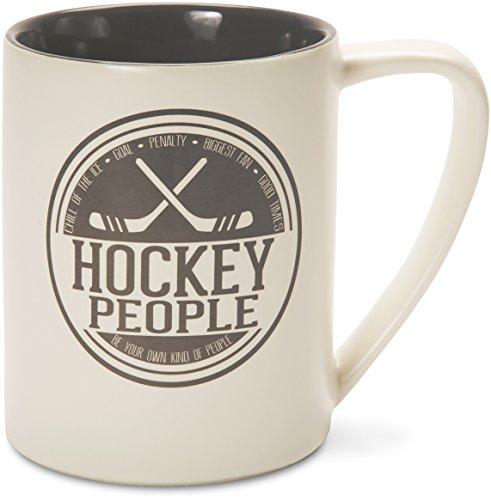 Pavilion Gift Company 67007 Hockey People Ceramic Mug, 18 oz., (Hockey Mug)