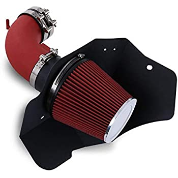 K/&N Performance Air Intake Kit 69-4530TS with Metal Tube and Lifetime Red Oiled Filter for 2009-2015 Cadillac CTS-V 6.2L V8