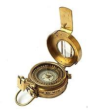 Collectibles Buy Vintage Militair Navigationeel Marine Messing Kompas 2.5 Pocket Antiek Apparaat