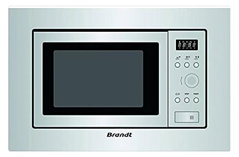Microondas integrable Brandt BMS6112X: Amazon.es: Hogar
