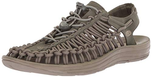 Olive Dusty - KEEN Men's Uneek-M Sandal, Dusty Olive/Brindle, 8.5 M US