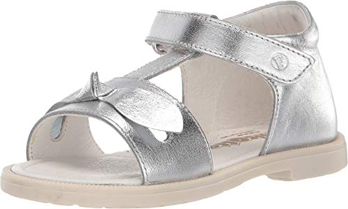 Naturino Baby Girl's Falcotto Plush SS19 (Toddler) Silver 24 M EU