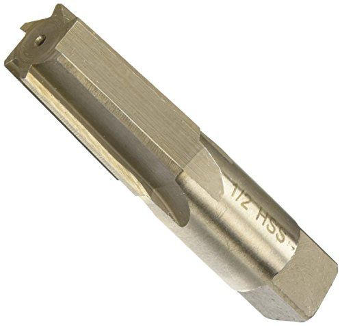 """Drill America 1/2"""" High Speed Steel Straight Flute Taper Pipe Reamer, DWR Series"""