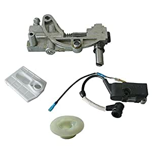 JRL Oil Pump Air Filter For Most Chinese Chainsaw 4500 5200 5800 45cc 52cc 58cc ROK
