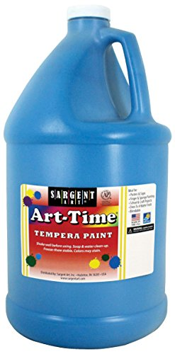 Gallon Turquoise Art-Time Tempera Paint - Sargent Art 17-6661