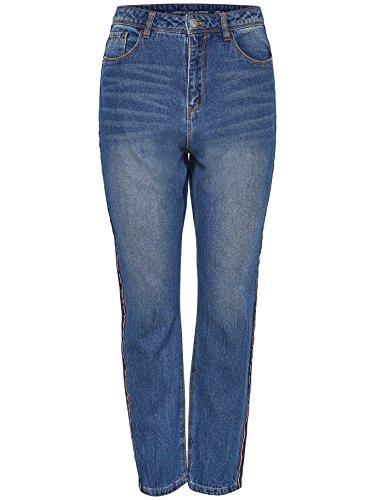 JACQUELINE Blu Blue Jeans x YONG 32W Donna 32L Medium de PA4AqrO