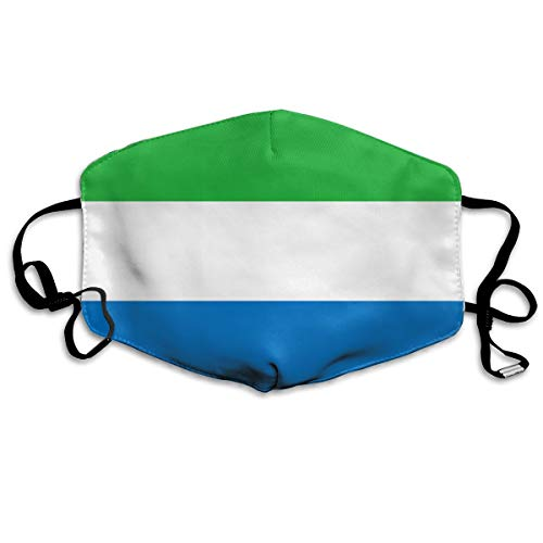 - Sierra Leone Color Flag Anti-dust Mouth Mask Face Masks Mouth Cover for Man and Woman