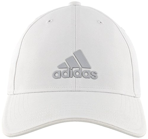 White Structured Adjustable Hat - adidas Men's Decision Structured Adjustable Cap