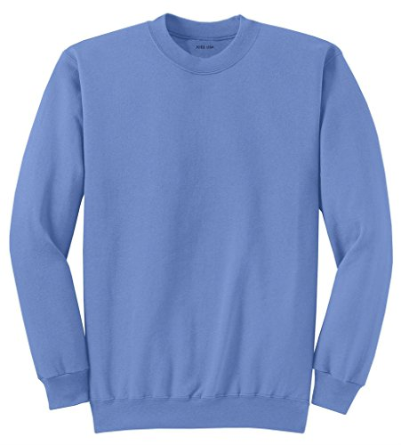 Joe's USA Youth Soft and Cozy Crewneck Sweatshirt,M-Carolina Blue